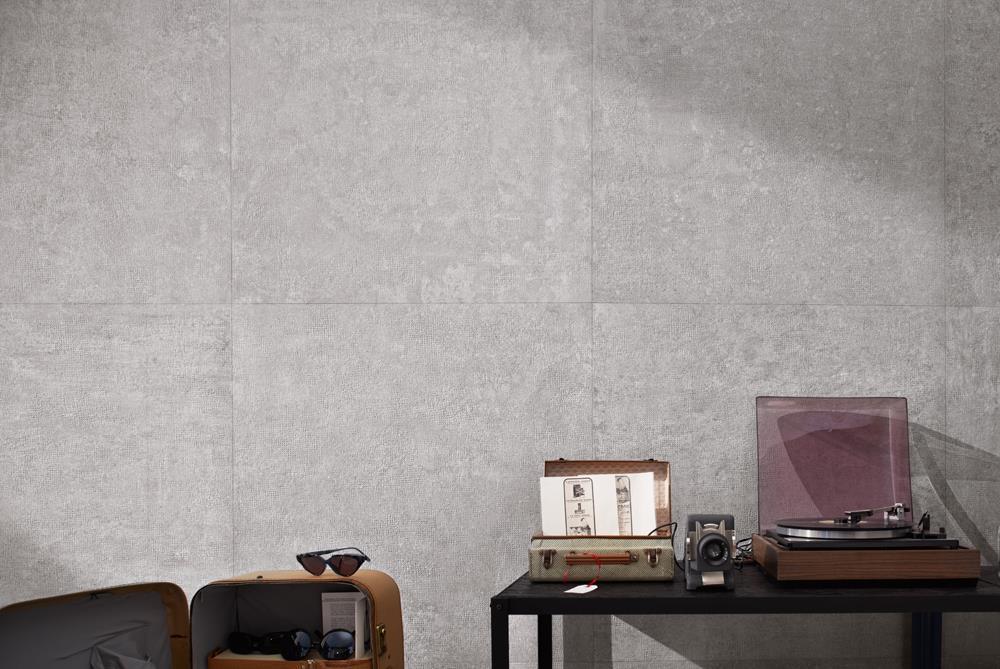 Carrelages effet béton gris l Carrelages Delannoy
