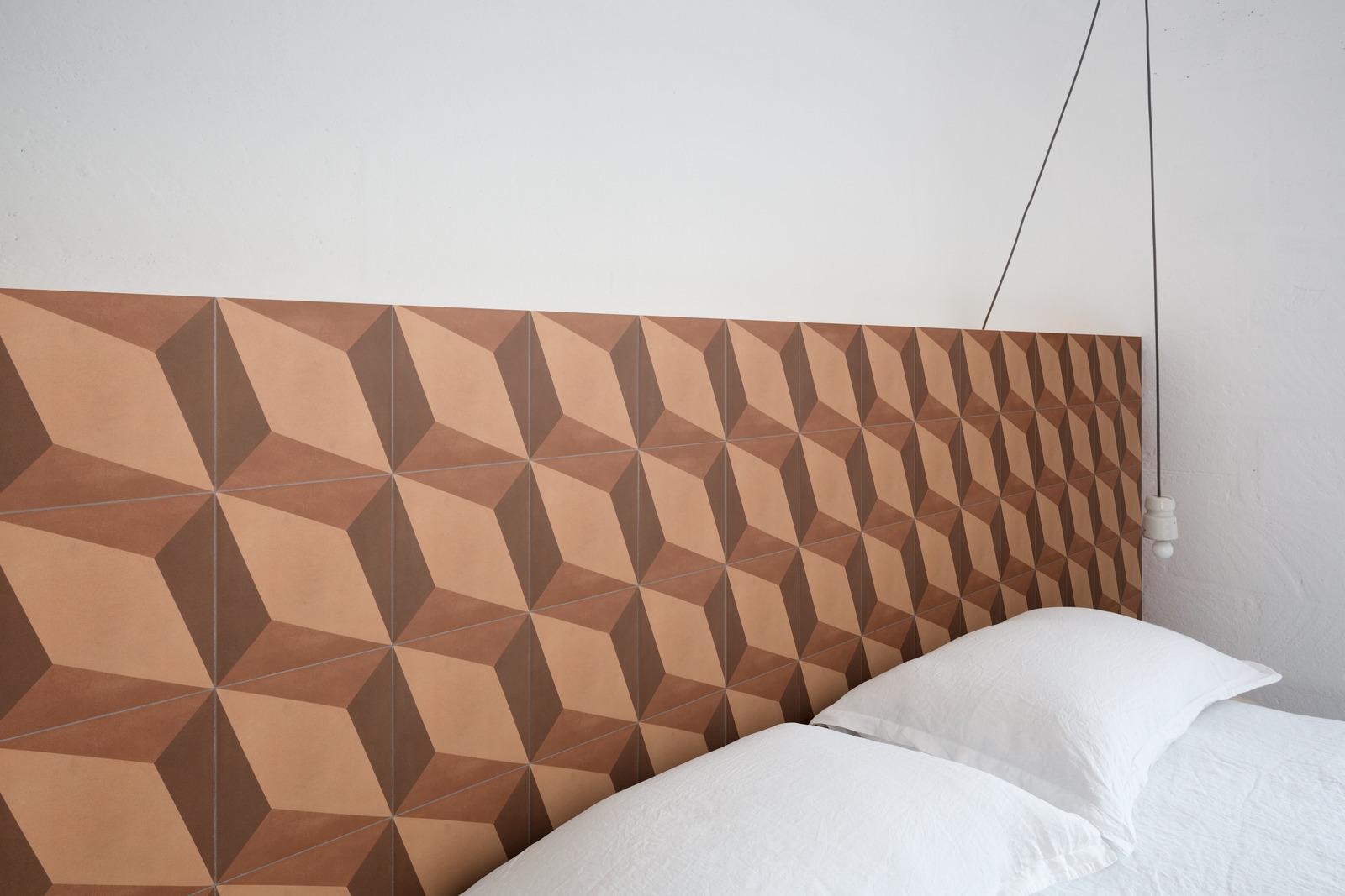 Inspiration carrelages effet carreaux de ciment couleur l Carrelages Delannoy