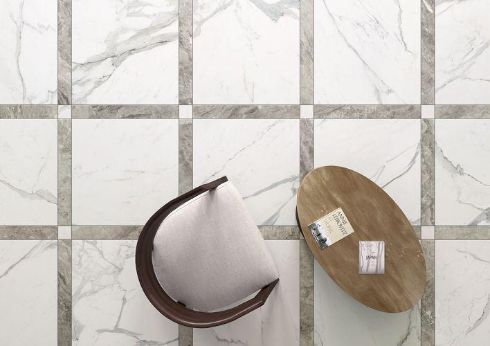 Inspiration carrelages effet marbre blanc l Carrelages Delannoy
