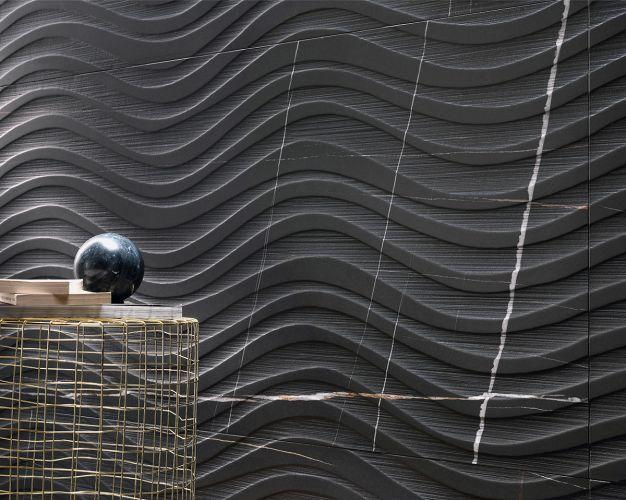 Carrelages effet marbre noir l Carrelages Delannoy