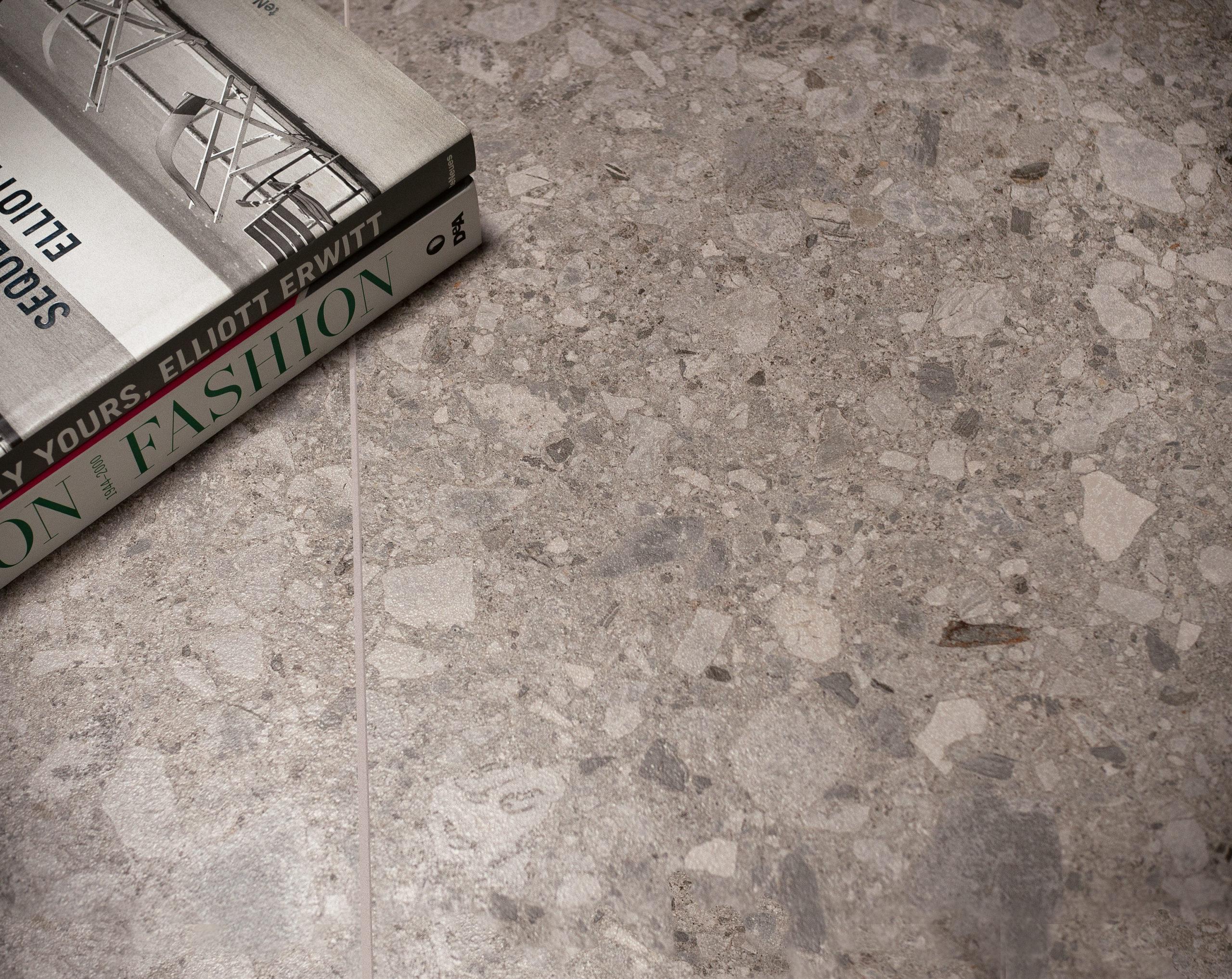 Carrelages effet pierre Terrazzo l Carrelages Delannoy