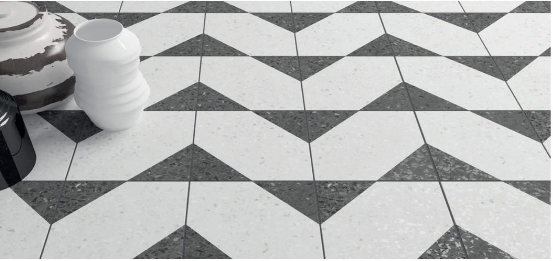 Inspiration sol pierre Terrazzo l Carrelages Delannoy