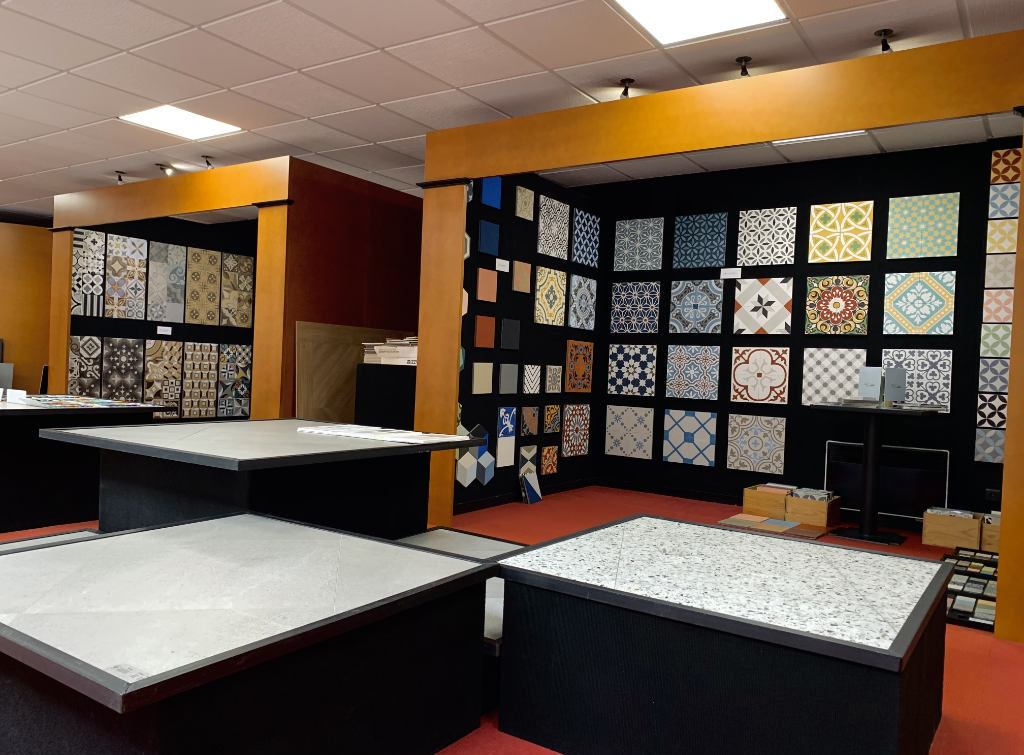Showroom, magasin de carrelages l Carrelages Delannoy