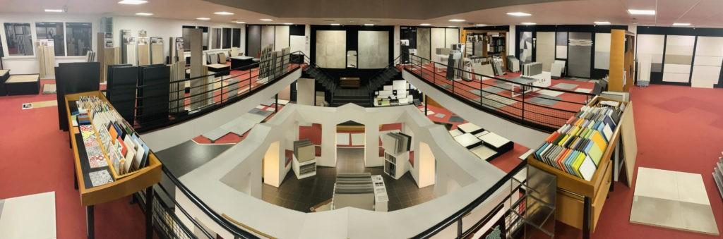 Showroom panoramique l Carrelages Delannoy